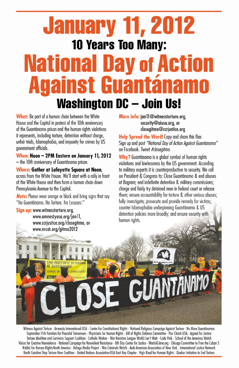 J11 Close Guantanamo Flyer
